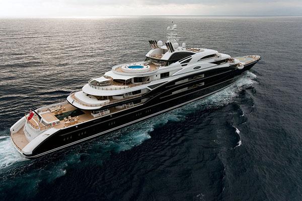 Российский миллиардер продал яхту за 500 миллионов долларов