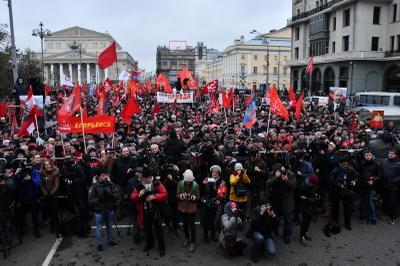 Коммунисты готовы объединить все прогрессивные силы человечества – резолюция праздничного митинга в Москве