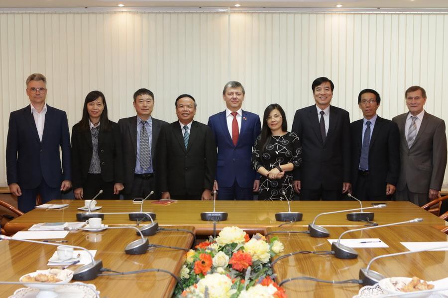 Коммунисты Вьетнама и России обсудили дальнейшее сотрудничество