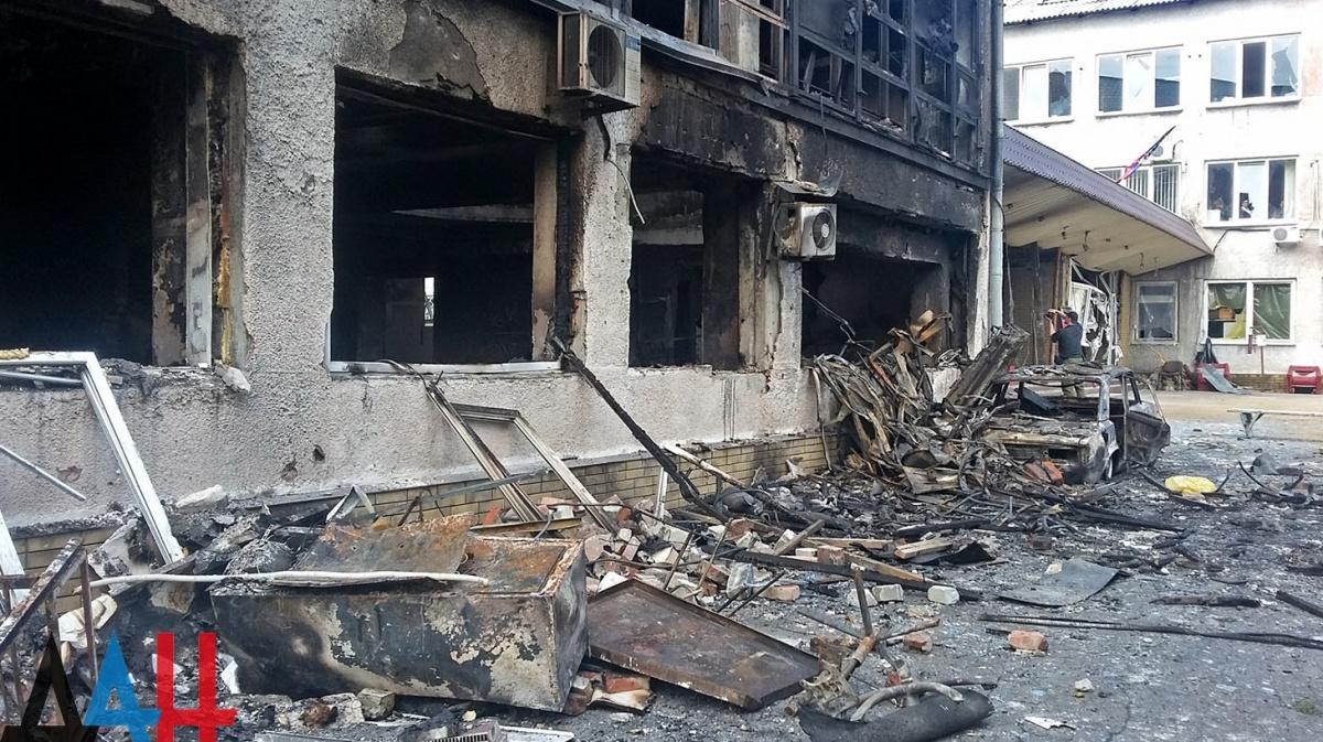 Украинская армия за выходные более 500 раз обстреляла территорию ДНР
