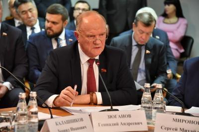Геннадий Зюганов: «Если мы складываем свои потенциалы в СНГ, мы конкурентны»