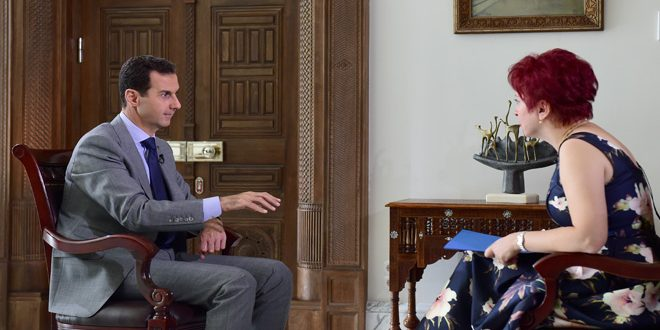 Асад назвал Турцию создателем ИГ