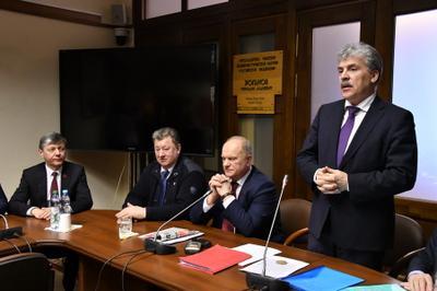 Павел Грудинин предлагает поднять налог на доходы олигархов до 60 процентов