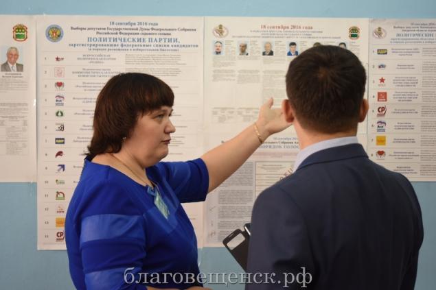 В Дальневосточных регионах уже проголосовала одна шестая часть избирателей