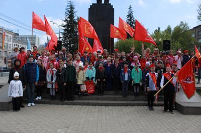 День пионерии широко отметили по всей России