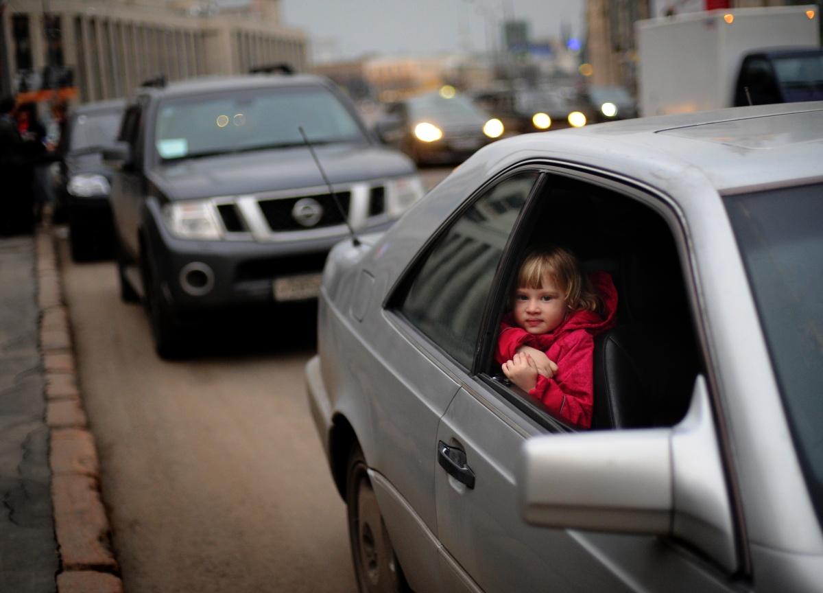 В России меняются правила перевозки детей в машине