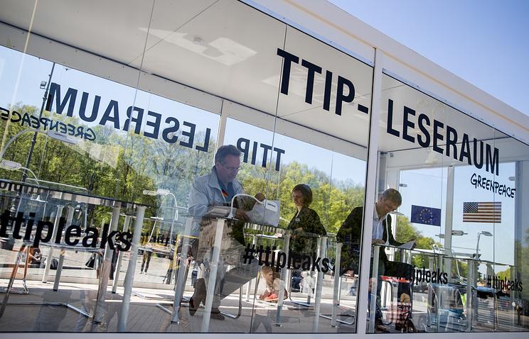 Франция критикует предложения США по Трансатлантическому партнерству