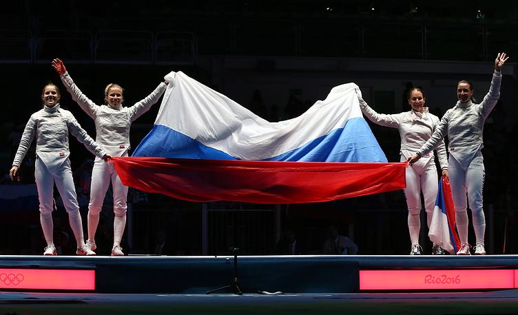 Россия поднялась на четвертое место в общем зачете Олимпиады