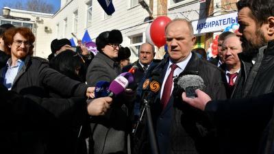 Геннадий Зюганов: «От этих выборов зависит судьба страны»