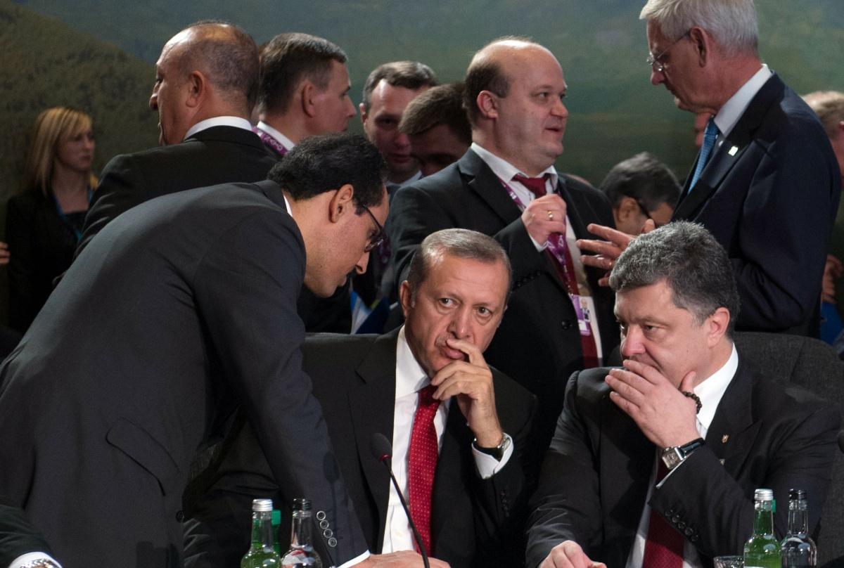 Эрдоган сообщил о поддержке претензий Украины на Крым