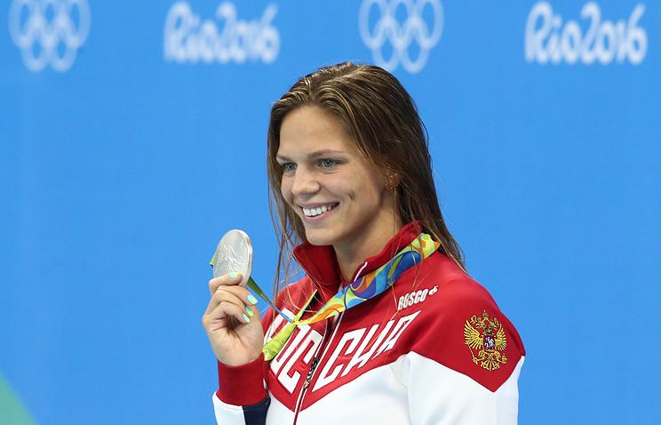Сборная России завоевала на Олимпиаде 4 медали за один день