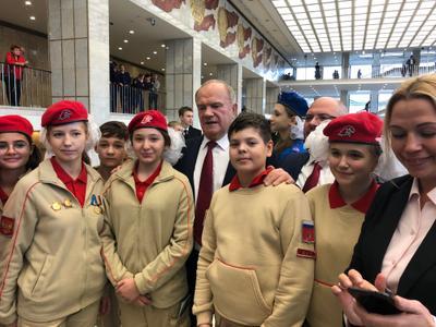 Геннадий Зюганов: Сильное государство, патриотизм, коллективизм, справедливость являются нашими главными опорами