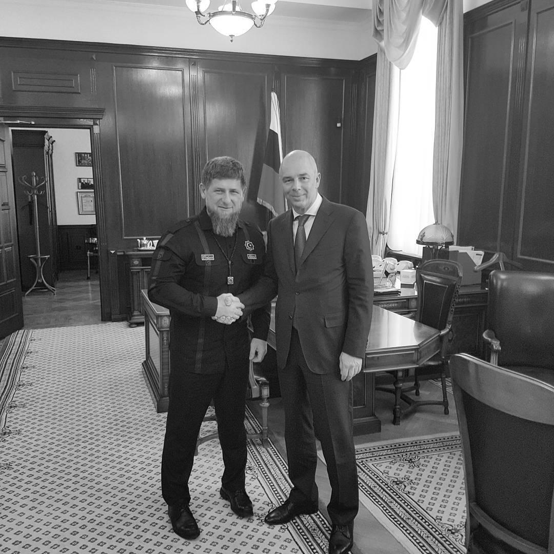 Кадыров попросил в Минфине несколько миллиардов на горные лыжи