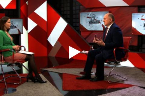 Интервью Геннадия Зюганова о повышении пенсионного возраста. Он-лайн трансляция