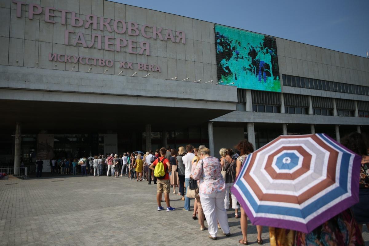Выставка Айвазовского в Третьяковке побила рекорд выставки Серова