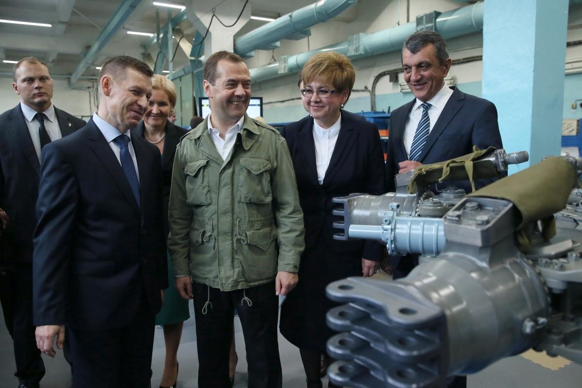 Визит Медведева в Читу назвали показухой