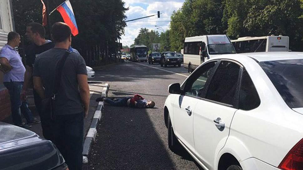 Стали известны подробности нападения на пост ДПС в Подмосковье