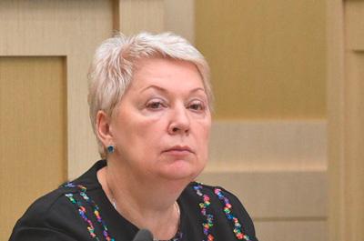 Министр образования Васильева