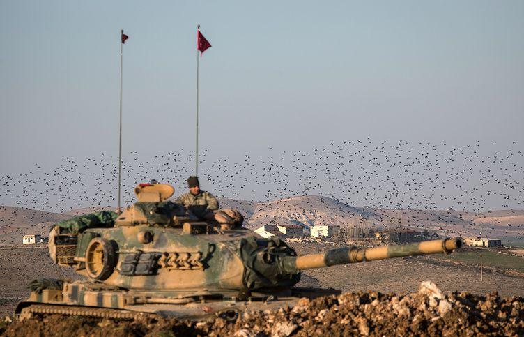 Турция начала наземную операцию в Сирии