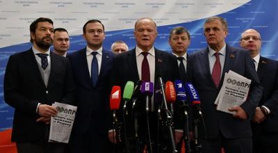 Геннадий Зюганов: КПРФ взяла лучшее из отечественной истории. Ее программа и кандидат объединяют патриотов России