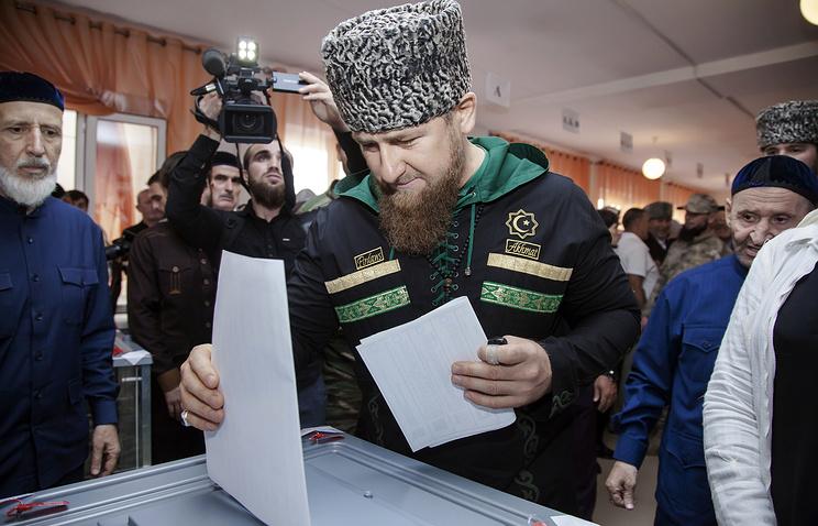 Чечня выходит в лидеры по явке на выборы в Государственную думу