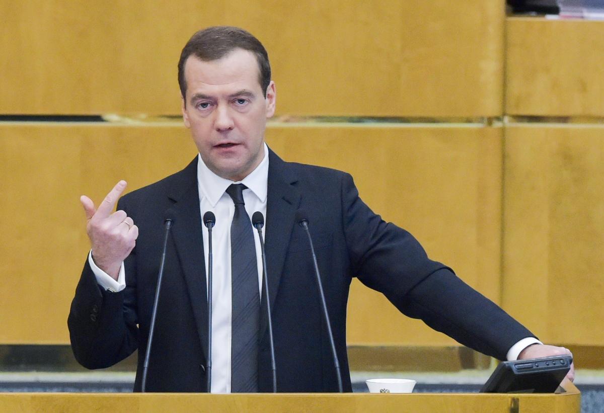 Медведев провально выступил в Госдуме