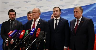 Геннадий Зюганов: США ведут против России крупномасштабную войну