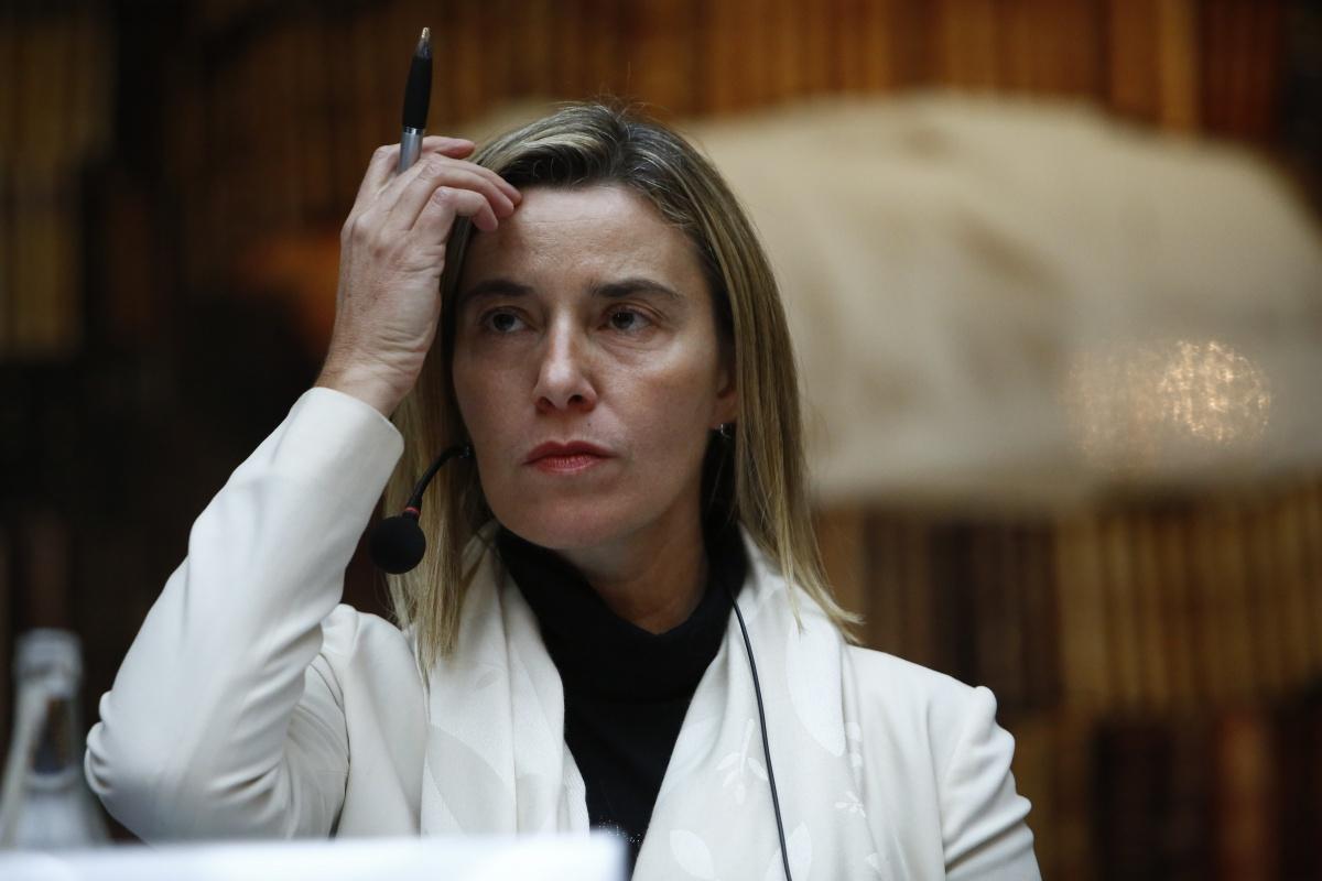 Могерини: Ни одна страна ЕС не предложила ввести санкции против России в связи с ситуацией в Сирии
