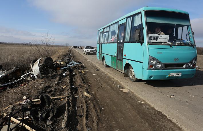 В Донбассе впервые прекратились обстрелы