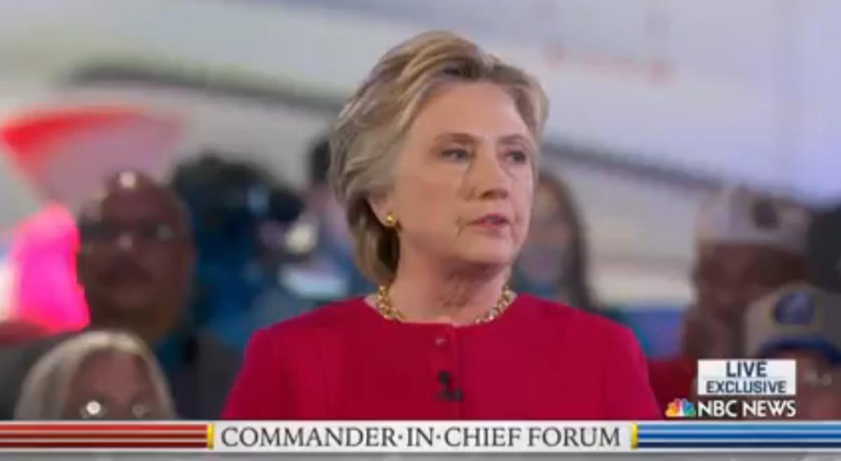 Клинтон: решение начать войну в Ираке было ошибкой