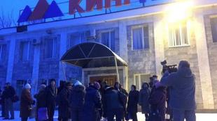 Шахтерский город Гуково оцеплен кольцом полиции и казаков