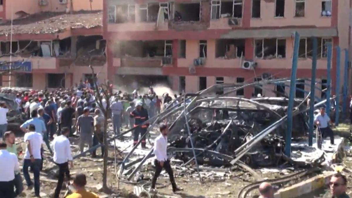 В Турции прогремел мощный взрыв, есть погибшие