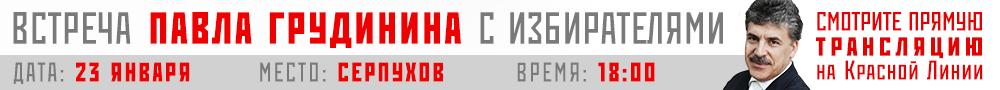 Грудинин Серпухов 23 января
