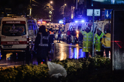 Ответственность за убийство 39 человек в Стамбуле взяло на себя «Исламское государство»