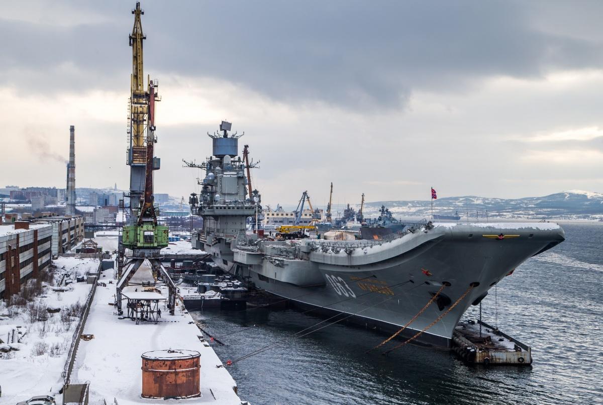 «Адмирал Кузнецов» отправится в Сирию в октябре