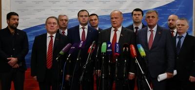 Геннадий Зюганов: Сегодня принимается закон национального предательства и социального терроризма