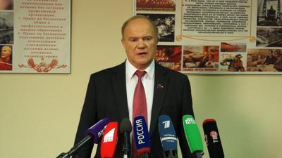 Геннадий Зюганов: «Сегодня нужны политическая воля и элементарная порядочность»