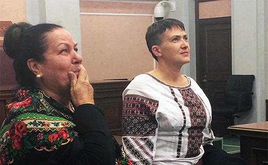 Зачем Надежда Савченко прилетела в Москву? Подробности