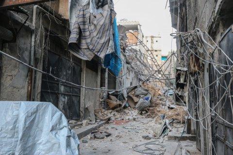 Сирийская армия выбила боевиков из ключевого района восточного Алеппо