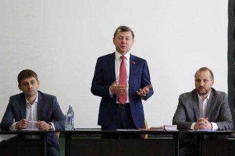 Дмитрий Новиков открыл учебный курс в Центре политической учебы КПРФ