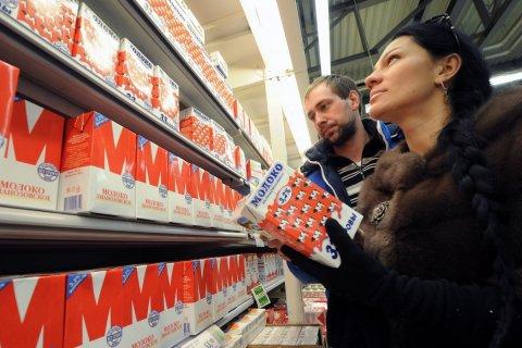 Россияне начали экономить на молоке
