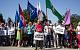 «Олигархи — не Россия». В Пскове, Саратове, Саяногорске прошли митинги и пикеты против повышения пенсионного возраста