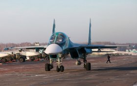 На Дальнем Востоке столкнулись два бомбардировщика Су-34