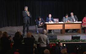Прямая он-лайн трансляция со встречи Павла Грудинина с избирателями в Петербурге