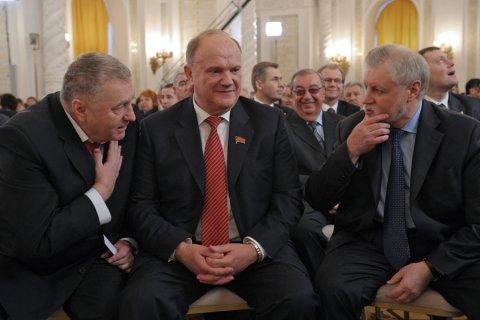 Парламентская оппозиция предложила Путину отменить муниципальный фильтр