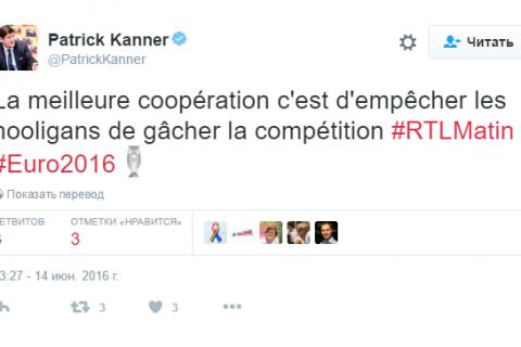 Министр спорта Франции обрадовался возможной дисквалификации сборной России на Евро-2016