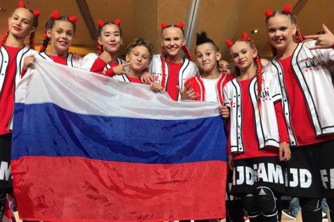 Красноярские школьницы победили в чемпионате мира по хип-хопу