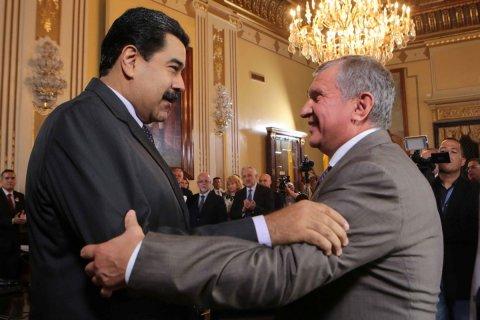 «Роснефть» дала взаймы Венесуэле 6 млрд долларов
