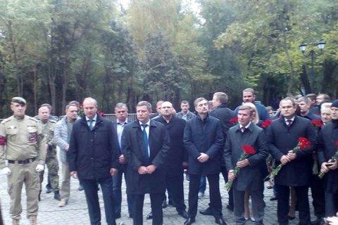 Сурков и Захарченко открыли в Ростове памятник «Героям Донбасса»