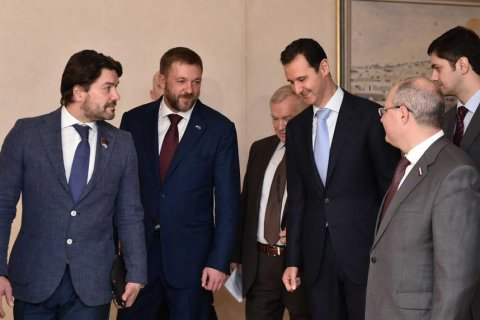 На встрече с депутатами Госдумы президент Сирии признался в любви к СССР